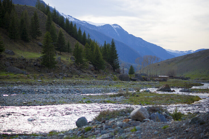 Горый Алтай весной