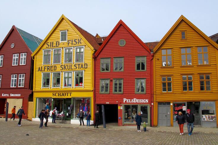 Берген. Норвегия.