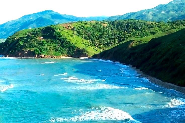 Остров Тортуга в Карибском море.