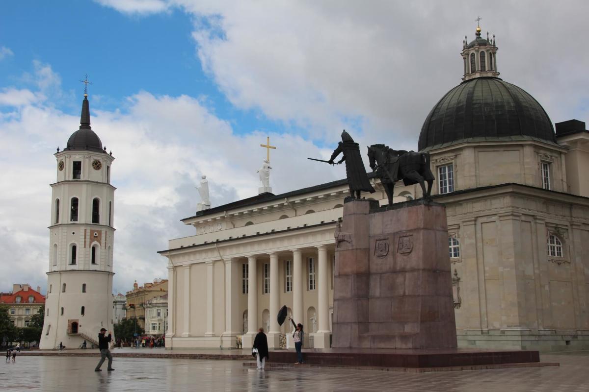 Самые дешевые города Европы. 2-е место. Вильнюс. Литва.