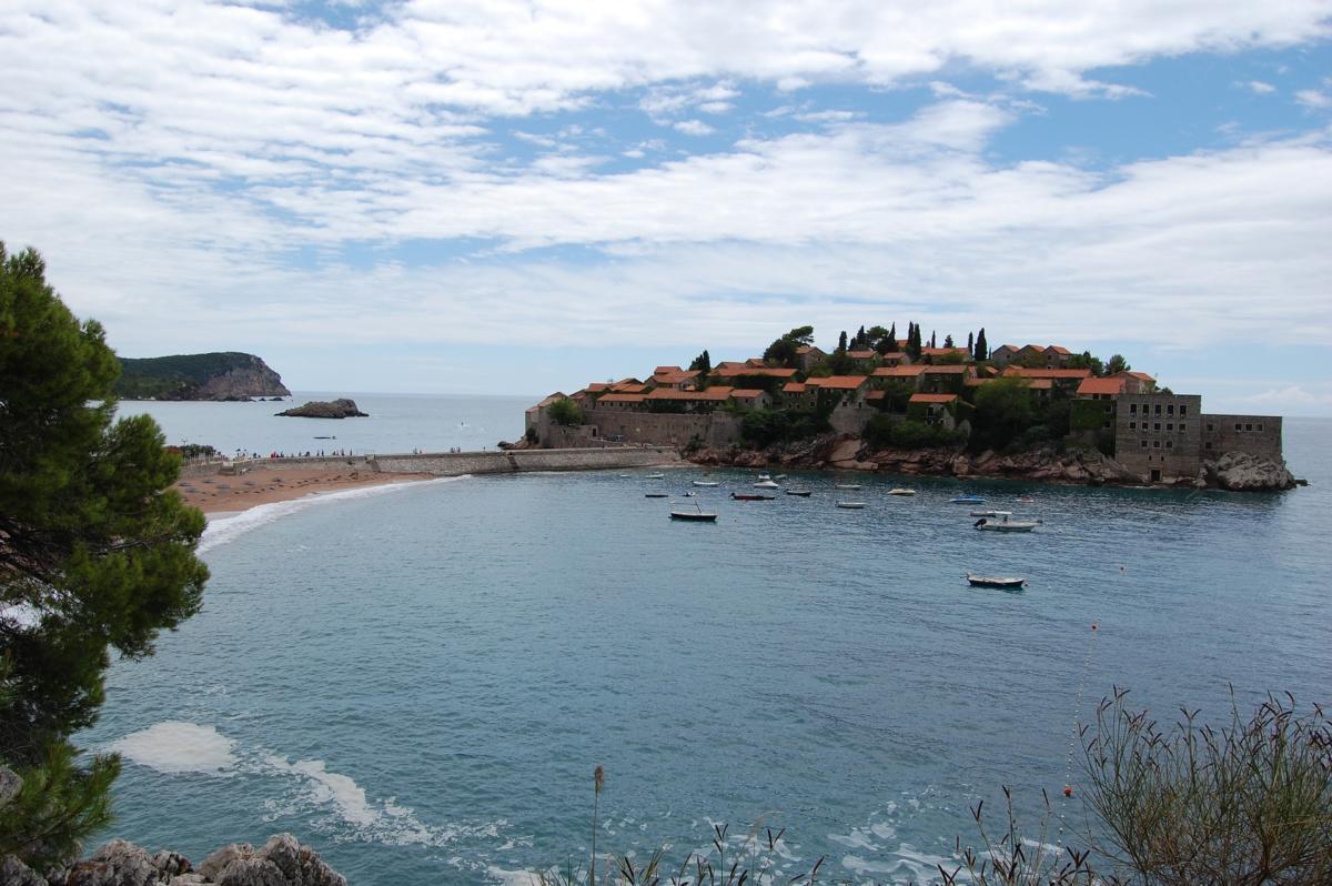 Остров Святого Стефана. Черногория. Лучшие места для отдыха.