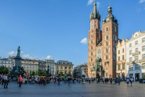 Самые дешевые города Европы. 1-е место. Краков. Польша.