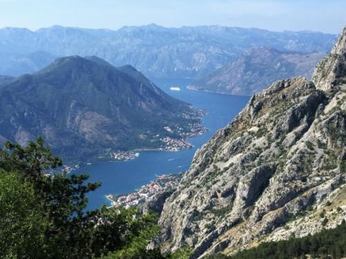 Вид со смотровой площадки Котора .Черногория. Лучшие места для отдыха.