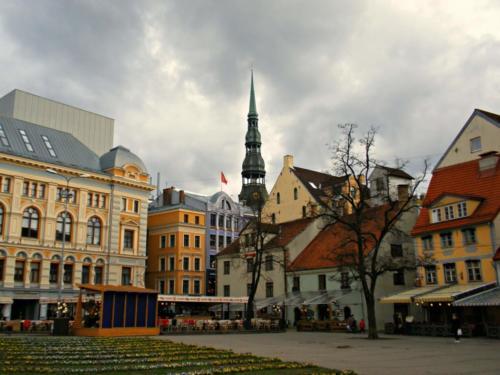 Самые дешевые города Европы. 3-е место. Рига. Латвия.